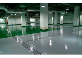 地下停车地坪场